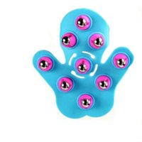 Wholesale Steel Ball Massage - 1 Pcs Brand New Handheld 360 Degree Rotation Massage Steel Ball Roller Health Care Neck Face Body Massager