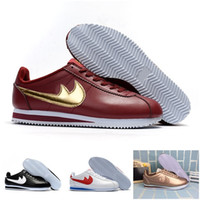 Wholesale Womens Leather Shoes Sale - 2017 best new cortez shoes mens womens running shoes sneakers,cheap athletic leather original cortez ultra moire walking shoes sale 36-44