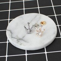 Wholesale Cheap Accessories Wholesale Korean - Wholesale- Rhinestones Crystal Mini Little Crown Men And Women Brooch, Korean Version Of Retro Suit Crystal Collar Accessories Cheap-brooch
