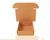 Paper packing boxes for moving - 11 cm Gift Packaging Kraft Paper Box For Jewelry Christmas Wedding Birthday Party Supplies Candy DIY Packing