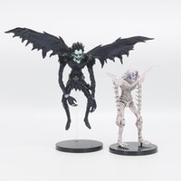 "Wholesale Death Notes - 7"" 18cm Anime Death Note Deathnote Ryuuku Rem PVC Action Figure Collection Model Toy Dolls"