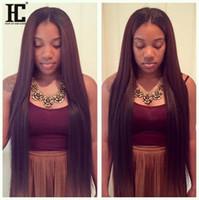 perucas indianas virginais de 12 polegadas venda por atacado-Perucas de cabelo humano virgem indiano para as mulheres negras cabelo liso reto peruano 10-24 polegada