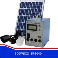 Wholesale Solar Portable Generator System - 300W Solar Power System Small Solar Generator Home Solar Power Equipment Solar Power System DHL Free Shipping Factory Direct Supply