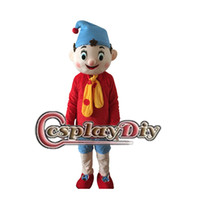 Wholesale Fancy Pinocchio Mascot Costume Inspired by The Adventures of Pinocchio Cartoon Character Mascot Costume