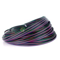 10m Flessibile Extension Cable a 4 pin Cavo Filo per RGB 3528 5050 LED Light Strip LIBA # 64279