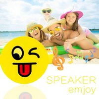 5 Emoji Portable Cartoon Stereo Smile Faces Bluetooth Speaker Subwoofer sem fio Lovely Mp3 Music Player Suporte TF Card Voice Control
