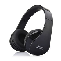 Wholesale Bluetooth Head Sets - Wholesale-2016 hot Stereo Casque Audio Mp3 Bluetooth Headset Wireless Headphones Earphone Head set Phone for iPhone 6 For Samsung Xiaomi
