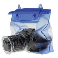 Wholesale Waterproof Digital Slr Camera Case - Outdoor Waterproof DSLR SLR Digital Camera Underwater Housing Case Pouch Dry Bag for Camping Swimming Universal Camera