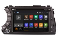 Android 5.1 Car DVD Player GPS de navegação para Ssangyong Kyron Actyon com a Rádio BT DVR USB Audio Video Stereo WIFI 1024 * 600 4Core