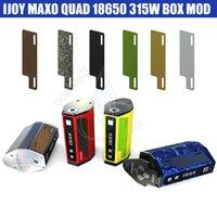 квад-мода оптовых-Аутентичный iJoy Maxo 315W TC Box Mod Quad 18650 Прошивка с возможностью обновления Настраиваемый внешний вид Эргономичный дизайн Модификации пара и сигареты DHL