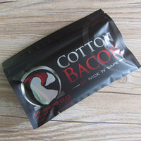Wholesale E Pure - USA Original COTTON BACON 2.0 100% Pure Bacon Cotton For DIY RDA RBA Atomizers E Cigarette Vaporizers