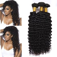 Wholesale Wholesale Bella Dream Hair - 58% Off Dyeable Peruvian Malaysian Mongolian Bella Dream Hair Products Brazilian Deep Wave 8A Unprocessed Cheap Brazilian Hair 4 Bundles