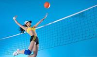 luxilon cordas de tênis grande banger venda por atacado-Bom negócio International Match Standard Voleibol de Tamanho Oficial Net Netting Replacement