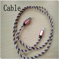Wholesale Micro Usb Cable Long - 1 Meter Long Strong Braided Cable for Phones USB Charger Cable Micro V8 Cables Data Line