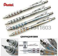 ingrosso matite meccaniche di qualità-Alluminio-One pezzo Pentel GraphGear 1000 Barile di alluminio di alta qualità Drafting Matita meccanica