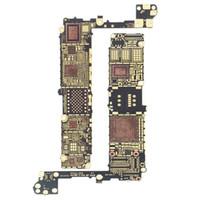 iphone motherboard neu großhandel-Neues Motherboard Frame Hauptlogik Bare Board für iPhone 4 4s 5g 5s 5c 6 6g 6s 6 plus Ersatz
