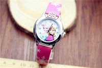 Wholesale Despicable Watches Wallet - Frozen Anna Elsa despicable me 2 in 1 Purse Wallet and watch sets kids children Spidermen cartoon quartz boy girls Christmas gift watches
