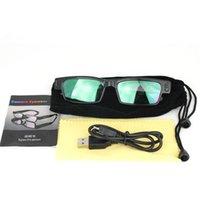 Wholesale Spy 16 - 8 16 32GB 5MP Spy Camera Eyewear 1280*720P Glasses Camera V14 Hidden Spy Sunglasses Camera Mini DV DVR Camcorder Video Recorder