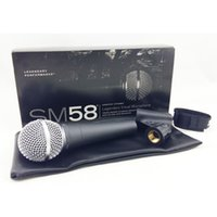 Wholesale Real Dynamics - Top Quality and Heavy Body SM58LC SM 58LC Vocal Karaoke Handheld Dynamic Wired Microphone Real Transformer Inside Mic