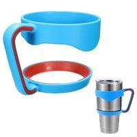 Wholesale Bottle Cup Holder - Portable Plastic Hand handle Holder Mugs Portable Hand Holder For YETI Rambler Tumbler 20 oz 30 oz Cups Rambler Handle and yeti cup lid
