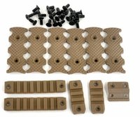 Wholesale Cover For Quad - Brand New Tactical handguard quad Rail Covers for Scope Rail System Sand
