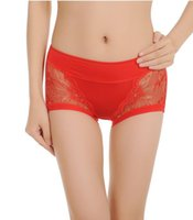 Wholesale Lingerie Underwear Models - Wholesale-High Quality Mid-waist Women Sexy Underwear Women Model Lace Panties Underwear Women Soft Underpant Sexy Panties Lingerie