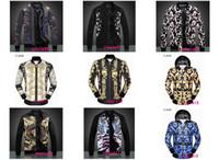 Wholesale Draped Hoodie - 2017 New Style Free Shipping Men Zip Cardigan Brand Hoodie Sweatshirt Skull printing Prints Cotton Hoody Sweatshirts men jacket 6165