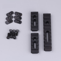 Wholesale rail mount accessories - Pack of 3 pcs AR 15 Rifle Accessory Unity Tactical Multi Purpose Picatinny Rail Mount Set For Handguards Free Shipping ht207