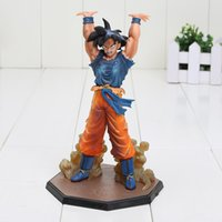 Wholesale red bombs - 16cm New Arrival Dragon Ball Z Son Goku Spirit Bomb Ver. Battle Namek PVC Figure Toy