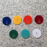 Wholesale Diamond Polishers - Wet Polishing Pads 3 inch (80 mm) Granite Polishing Tool Polisher Diamond Disc