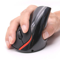 Wholesale Mouse Vertical - PC Notebook Mice with 5 Buttons Optical Vertical Mouse for Office and Gaming Fans Computer Mice
