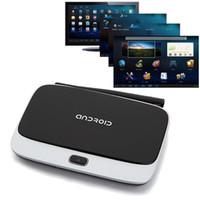 Wholesale Rj Wireless - New CS918 Smart TV Box HDMI 1080P Quad Core Android 4.4 WiFi 1080P Media Player 8GB RJ-45