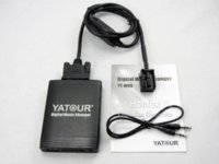 Yatour Peugeot Citroën RD4 RT3 Can-bus YT-M06 Adaptador USB MP3 SD AUX do carro Digital CD Changer interface