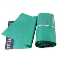 Wholesale Transport Bags - Transport Packaging green Mail Bags High Quality Poly Self-seal Mailbag Plastic Bag Envelope Courier Postal Mailing 32*45cm free shipping