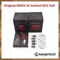 Wholesale Mini V2 - 100% Authentic Original Kangertech SSOCC Vertical OCC Coils 0.2 0.5 1.2 1.5ohm Coil For Kanger Subtank Mini V2 Atomizer