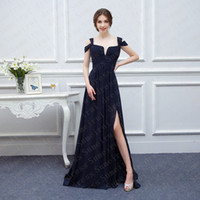 Wholesale Hot Sexy Models - 2016 Hot Sale A-line Sweetehart Off the Shoulder Long Bridesmaid Dresses for Wedding Sexy Side Split High Quality Vestido De Festa
