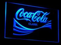 Wholesale Coke Signs - a061 Coke Bar Beer Light Drink LED Neon sign neon sign prices signs a man is in love