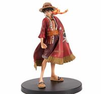 детские игрушки из турции оптовых-17 см аниме One Piece Луффи театральное издание фигурку Juguetes One Piece цифры коллекционная модель игрушки Рождественская игрушка