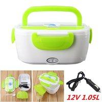 ingrosso riscaldatore elettrico 12v-12 V portatile elettrico riscaldato all'aperto viaggio Car Food Warmer riscaldatore Lunch Box