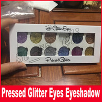 Wholesale rainbow makeup palette for sale - Group buy New Glittereyes Eyeshadow Pressed Glitter Rainbow eye shadow Palette Colors Makeup Eye Shadow DHL Free
