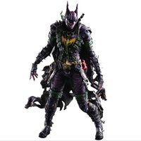 Wholesale play kai arts figure - Batman Figure Gogues Gallery Joker Batman Play Arts Kai Play Art KAI PVC Action Figure Bat Man Bruce Wayne 26cm Doll Toy