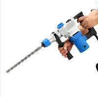 Wholesale Industrial Power Tools - Industrial grade power hammer pick groove multifunctional high-power electric drill impact drill multifunctional household electric tools