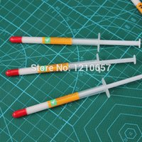 Wholesale Thermal Paste Wholesale - Wholesale- 10Pieces LOT Needle Tubing Type White Heaksink Compounds Thermal Paste