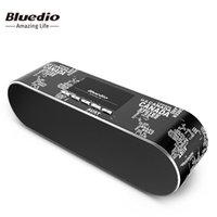 Bluedio AS Altoparlante portatile Mini Bluetooth Altoparlante portatile senza fili per MacBook IPhone x Sistema audio Sistema surround stereo 3D