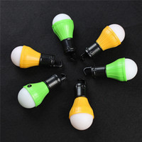 Outdoor Camping Lamp Tent Light Hanging 3 LED Light 3 Mode Lampe à lanterne réglable Night Fishing Lamp 2503089