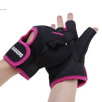 Wholesale Hot Sport Cycling Fitness GYM Half Finger Weightlifting Gloves Exercise Training colors Pair of Sport Fitness Gloves