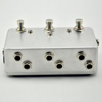 Wholesale Guitar Loop - Triple Guitar Loop Pedal - True Bypass - Pedal Board Looper - 3 Channel Switcher@BRAND NEW CONDITION