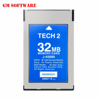 Wholesale Tech Isuzu Memory Card - Wholesale-Big promotion TOP quality gm tech 2 32 MB Memory card support GM  SAAB ISUZU Suzuki Holden for gm tech2 diagnostic scanner tool