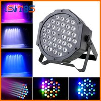 LED Crystal Magic Ball Par 36 RGB LED Stage Efeito de luz Disco DJ Bar Effect UP Iluminação Show DMX Strobe for Party KTV