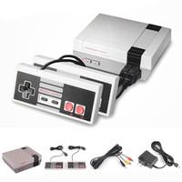 videojuego tv gratis al por mayor-Mini TV Game Console Entertainment System Video portátil para NES Games Consolas con Retail Box DHL Free